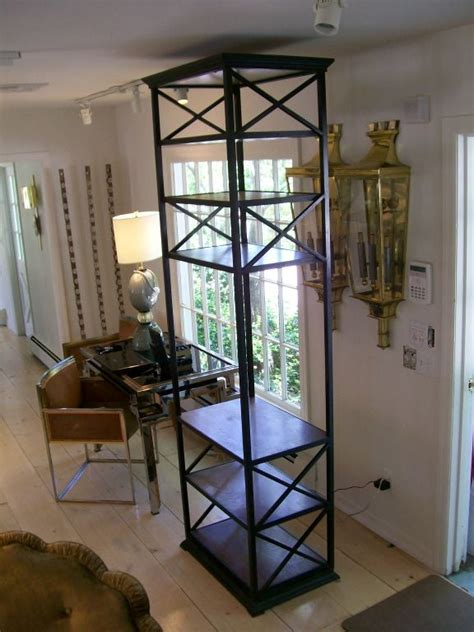 Wooden Etagere by Iron And Wood 200 Tager 232 For Sale At 1stdibs
