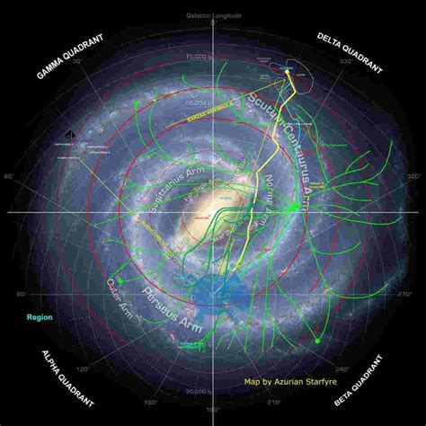 99 Star Trek Is There A Galactic Map Showing The Homeworlds Of The