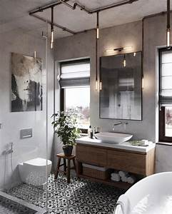 51, industrial, style, bathrooms, plus, ideas, , u0026, accessories, you, can, copy, from, them