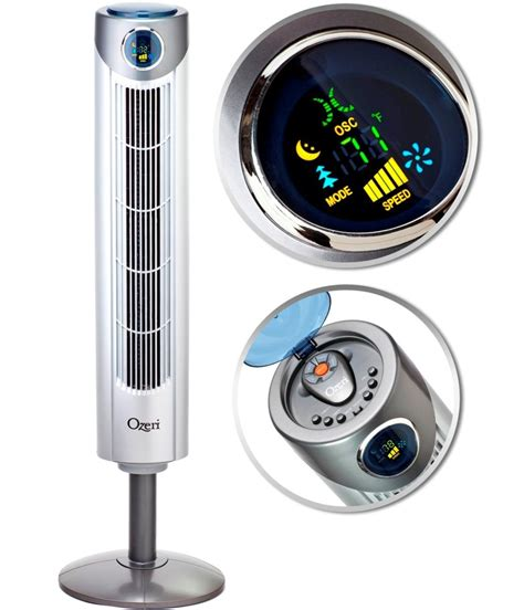 Ozeri Ultra 42 Inch Wind Fan Adjustable Oscillating