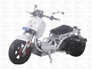 49 5cc  Air Cooled  Automatic  Front Disc  Rear Drum Brake