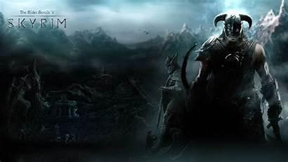 Skyrim 1080p Scrolls Elder Wallpapers Tesv Deviantart