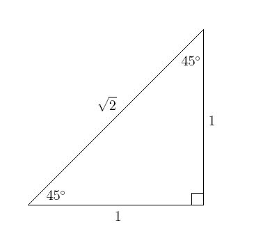 How To Solve Special Right Triangles  Real Math In A Minute