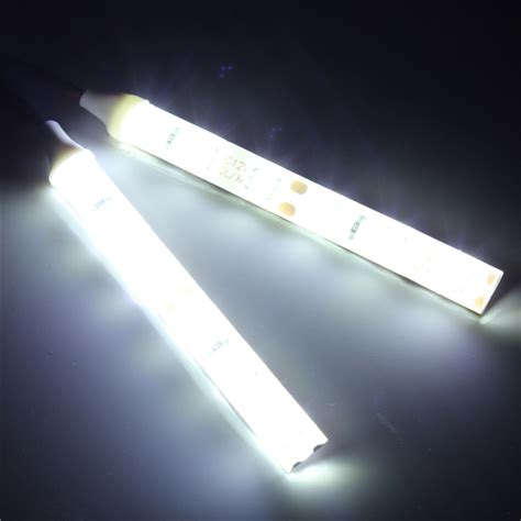 2pcs waterproof led lights 10cm 6 led 5050