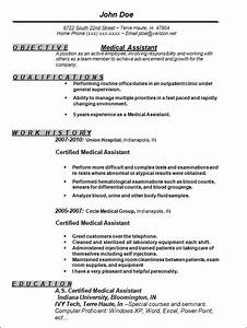 medical assistant sample resume the best letter sample With free medical assistant resume