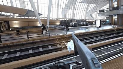 Train Bullet Teleporting Oculus Vrscout Superhero Believe