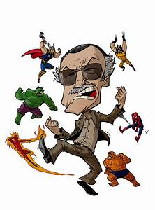 CARICATURES: STAN LEE by Zuccarello on DeviantArt