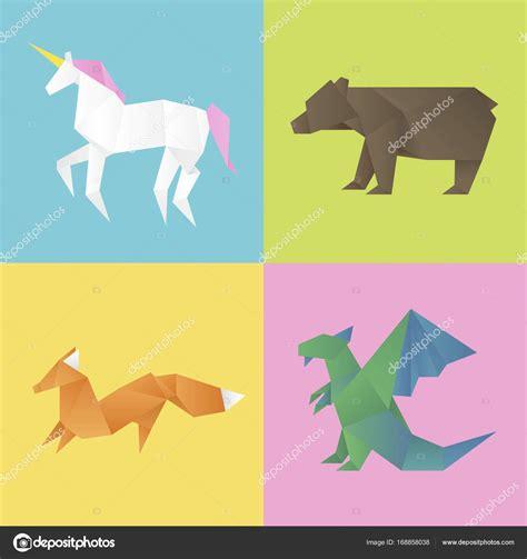 Imágenes: animales hechos con figuras geometricas