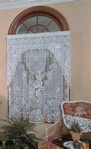 Victorian Rose Lace Shower Curtains