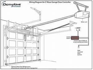 wiring diagram for chamberlain garage door opener wiring With wiring garage door