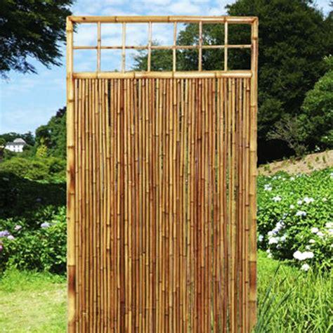 Garten Sichtschutz Bambus Natur by Garten Sichtschutz Bambus Natur Bambusmatte