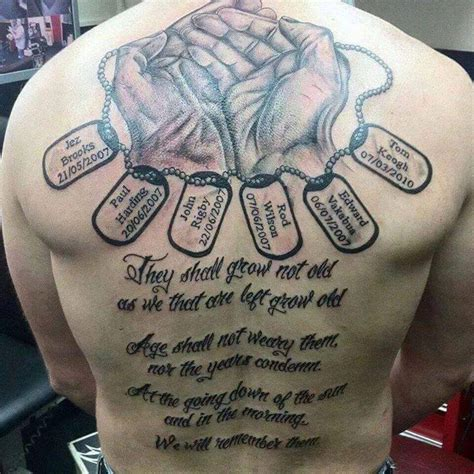 brilliant rest  peace remembrance tattoo  full