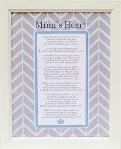 Mimi's Heart Poem Frame 11x14