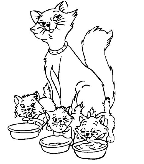 Kleurplaat Aristocats by Aristocats Coloring Pages Az Coloring Pages