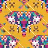 pixel art animal faces stock vector image  pixelated