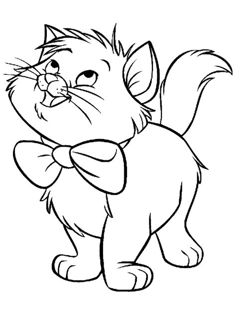 Kleurplaat Aristocats by Aristocats Coloring Pages Printable Sketch Coloring Page