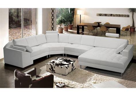 photos canap 233 d angle cuir blanc pas cher
