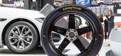 Goodyear Reveals Concept Tyres For Autonomous Cars
