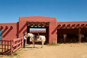 Jane Fonda 39 S New Mexico Ranch Photos Architectural Digest