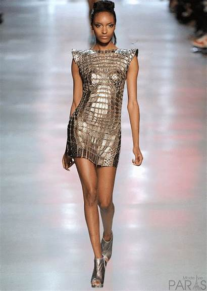 Runway Animated Chanel Models Trends Clothing Gifs