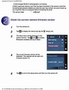 Nikon Coolpix S230 Firmware Upgrade Procedures Guide