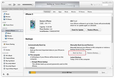 backup an iphone fare backup prima dell aggiornamento a ios 10 o ios 11