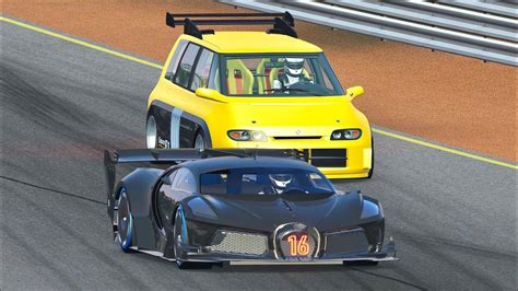 We'll convert it for new amazing challenges: Bugatti Black Devil VGT vs Renault Espace F1 at Grand Canyon Valley - YouTube
