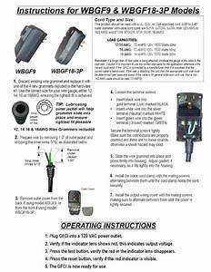 Image  Wbgf9 Gfci Plug Manual Reset  Free Economy Shipping