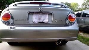 Nissan Maxima 2002 Se Greddy Exhaust