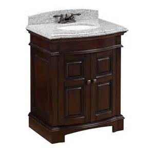 allen roth peckham cherry undermount bathroom vanity with engineered top 28 in x 21 in