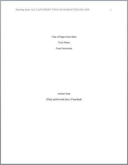 sample title apa format title page template quotes resumewordtemplate org