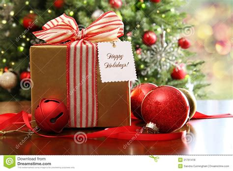christmas is not about the gifts gift sitting on a table stock photo image 21791418