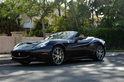 black convertible ferrari black convertible rental los angeles and las vegas