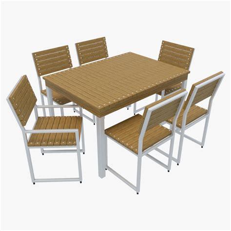 outdoor furniture 2 3d model max obj 3ds fbx cgtrader