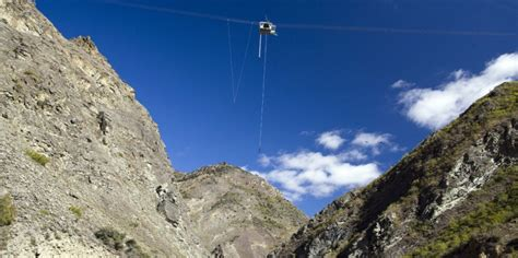 134m Nevis Bungy Jump - NZ's Highest Bungy, Queenstown