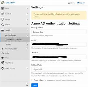 Use Azure Ad As An External Identity Provider