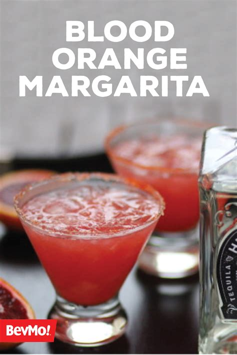 10 Refreshing Summer Cocktail Recipes To Help You Keep Your Cool by Blood Orange Margarita My Whistle Blood Orange