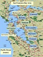 Map Of The Bay Area | Map Of The World
