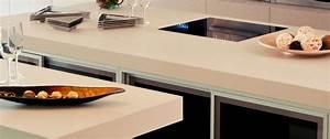 Plan De Travail Céramique : cuisine plan de travail de cuisine moderne clair en ~ Dailycaller-alerts.com Idées de Décoration