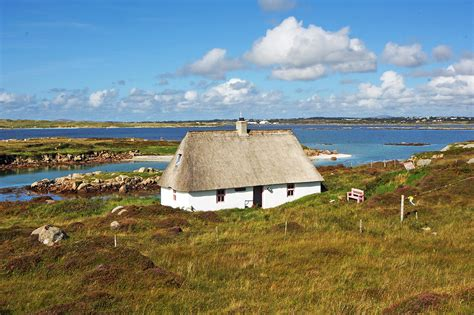 inishfree island holiday cottage  donegal