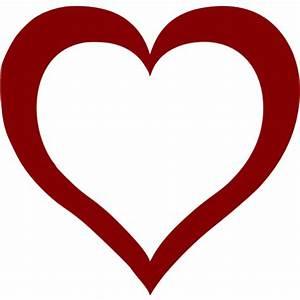 Maroon Heart Icon