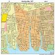 Amityville New York Street Map 3602044