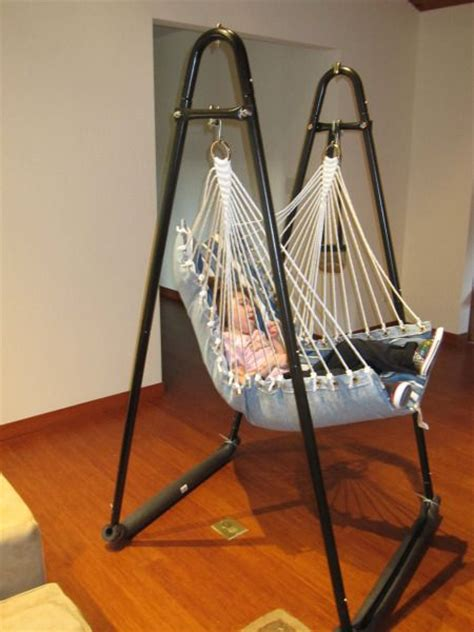 25 best ideas about hanging chair stand on