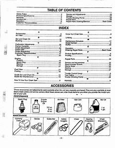 Page 6 Of Craftsman Chainsaw 358 351080 User Guide