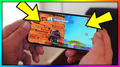 fortnite mobile  ios android youtube