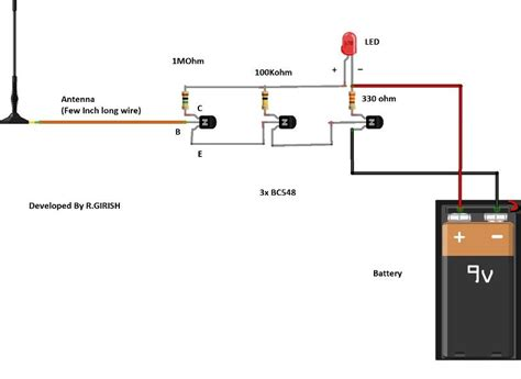 Pin Electronic Diy Circuit Projects