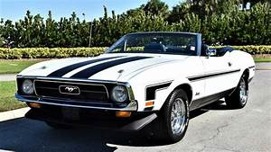Ride The Wind In A 1971 Ford Mustang Convertible
