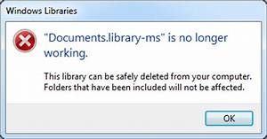 how to fix quotlibrary ms no longer workingquot error mytechblog With document library error