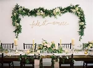 Guirlande Accroche Photo : 14 fa ons de pr senter ses guirlandes de fleurs son mariage ~ Teatrodelosmanantiales.com Idées de Décoration
