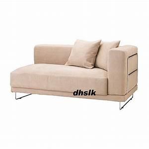 ikea tylosand 2 seat 1 arm sofa cover kungsvik sand With sofa arm covers canada